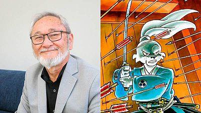 Stan Sakai en el Salón del Cómic de Barcelona y una imagen de Usagi Yojimbo