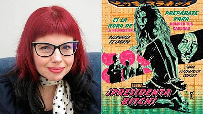 Kelly Sue DeConnick en el Salón del Cómic de Barcelona e ilustración de 'Bitch Planet'
