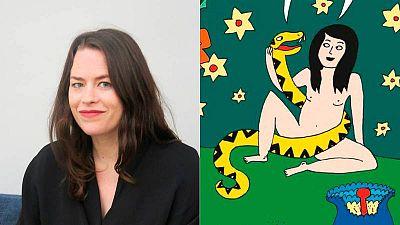 Liv Strömquist en el Salón del Cómic de Barcelona e ilustración de 'El fruto prohibido'