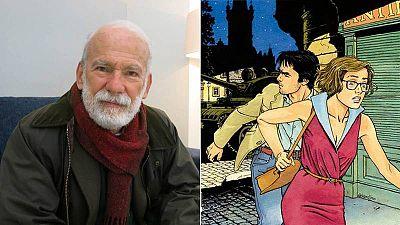 Vittorio Giardino en el Salón del Cómic de Barcelona y fragmento de la protada de 'Jonas Fink 4'
