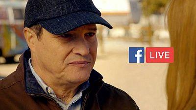 Pedro Mari Sánchez responde en el Facebook Live de 'Fugitiva'