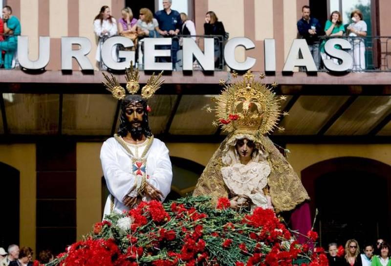 JESUS DEL CAUTIVO Y MARIA SANTISIMA DE LA TRINIDAD
