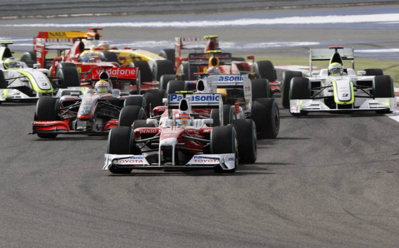 Un fallo en la elección de neumáticos ha hecho que el alemán Timo Glock terminará séptimo a pesar de que salía en cabeza.