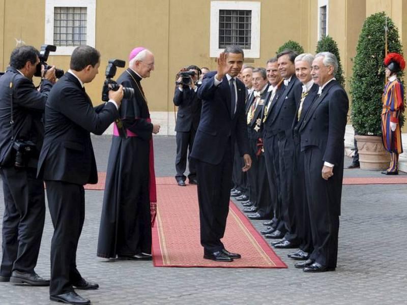 Visita de Obama al Vaticano