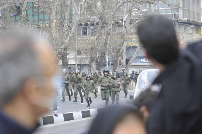 Enfrentamientos en Irán