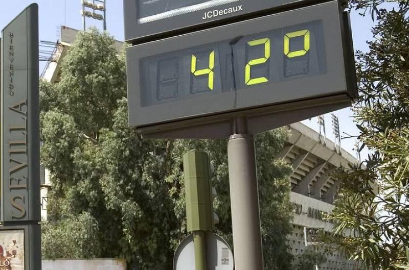 En Murcia, Valencia y Alicante los termómetros pueden alcanzar los 42ºC a la sombra.