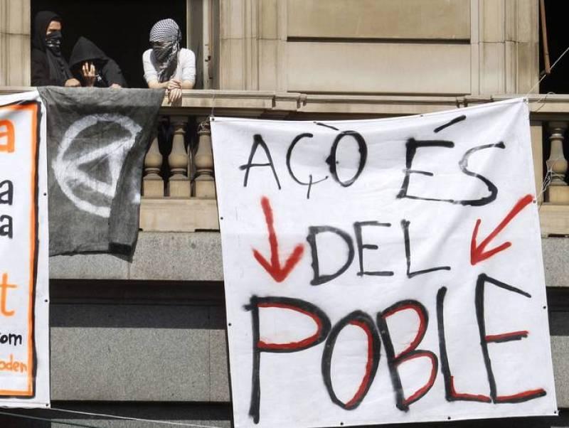 Antisistemas en Barcelona
