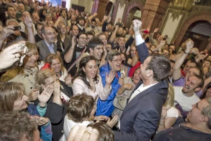 TOMÁS GÓMEZ GANA EN PRIMARIAS SOCIALISTAS MADRILEÑAS