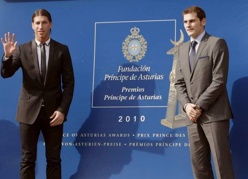 LLEGADA JUGADORES DE LA SELECCIÓN ESPAÑOLA DE FÚTBOL