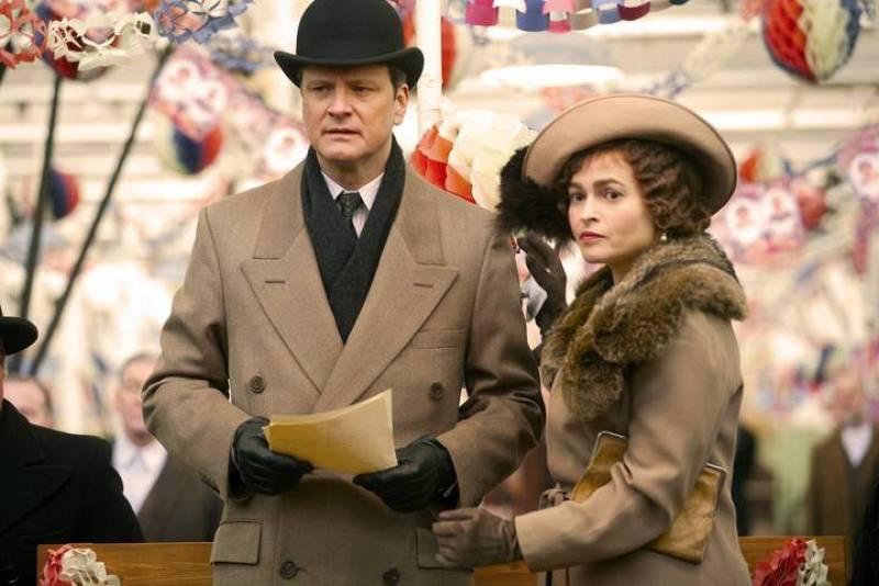 Colin Firth y Helena Bonham Carter protagonizan junto a Geoffrey Rush 'El discurso del rey'.