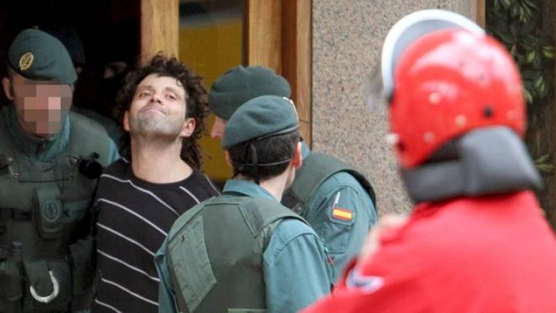 Daniel Pastor, uno de los cuatro presuntos miembros de ETA que la Guardia Civil ha detenido esta madrugada en Bilbao