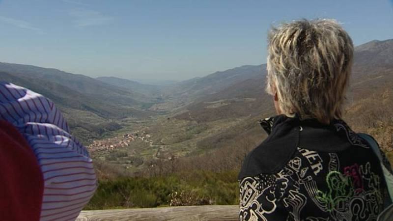 Mirador de Tornavacas. Vista al Valle del Jerte