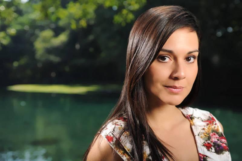 La actriz Patricia Garza interpreta a Verónica en 'Amar de nuevo'.