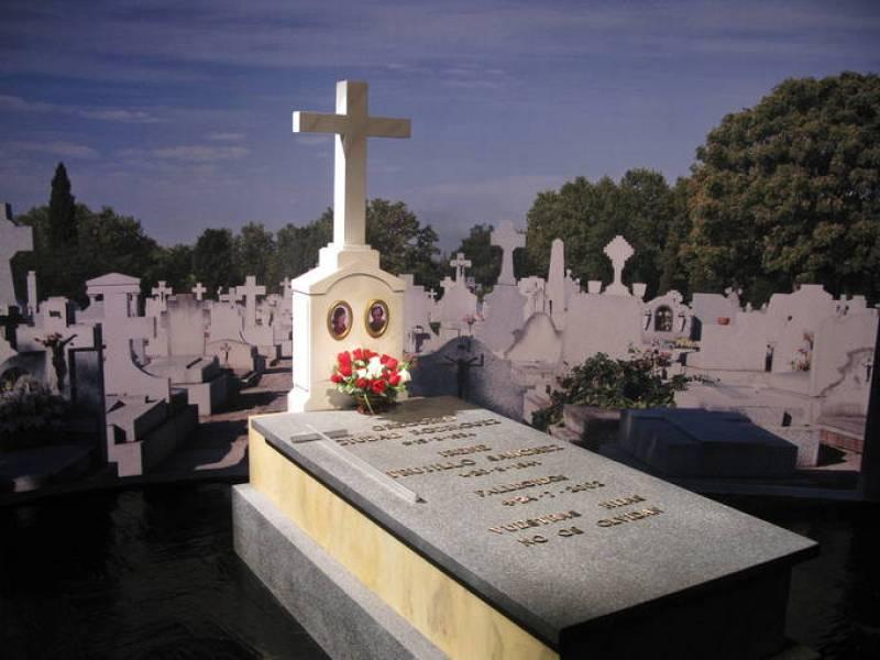 La tumba de Carmen Maura en 'Volver'