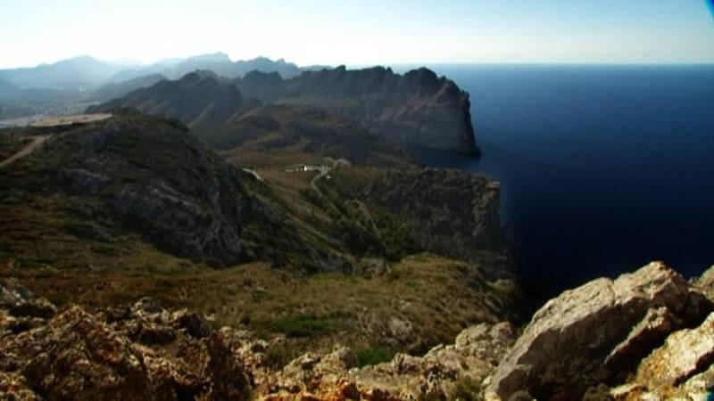 Vista desde el Cabo de Formentor hacia el sur