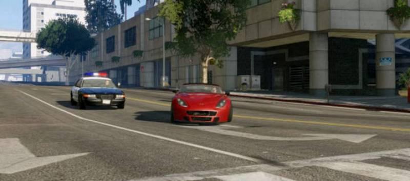 Las persecuciones policiales son uno de los elementos más característicos de todos los títulos GTA