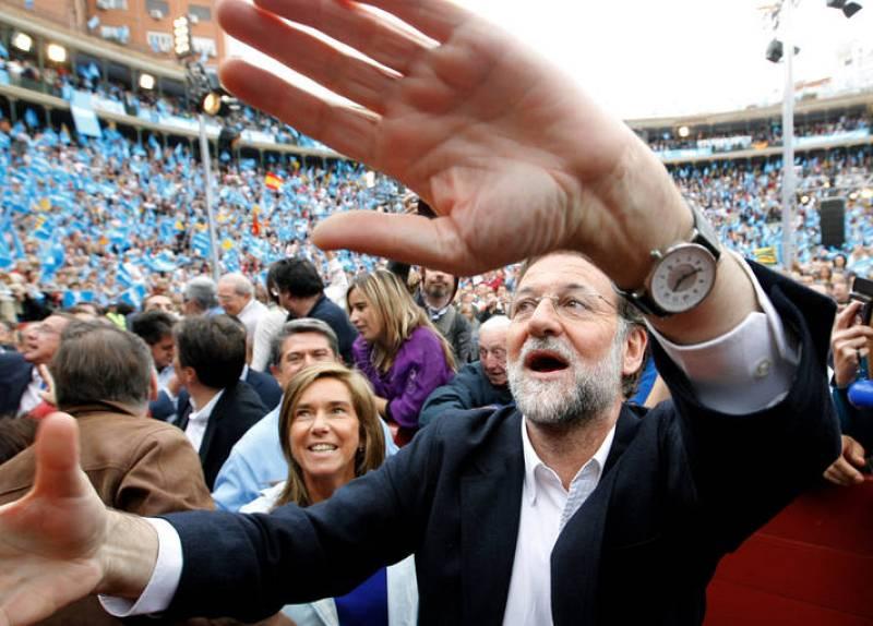 Esta vez no ha estado Francisco Camps, expresidente valenciano, como el pasado mes de mayo