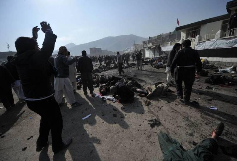 Al menos una treintena de muertos en Kabul