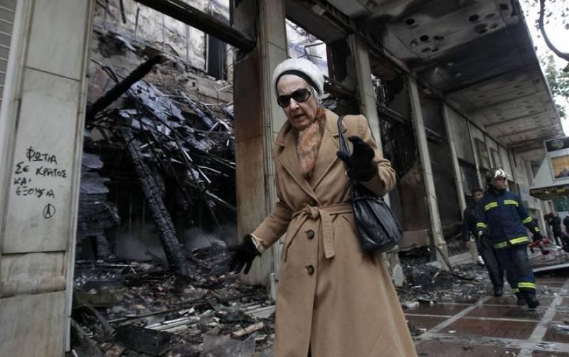 Decenas de edificios han sido incendiados o saqueados durante los disturbios.
