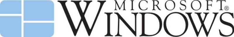 El logotipo de Windows 1.0 fue el primero de la compañía, muy parecido al último que se ha empleado para distribuir Windows 8, el último sistema operativo de Microsoft