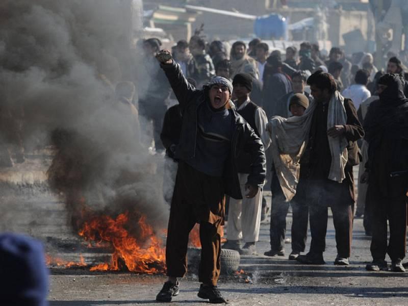 La Policía ha respondido con fuego real a los manifestantes en Kabul y otras ciudades afganas