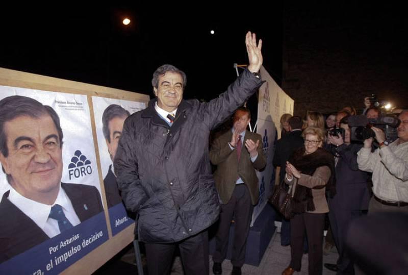 Francisco Álvarez Cascos, elecciones Asturias 2012