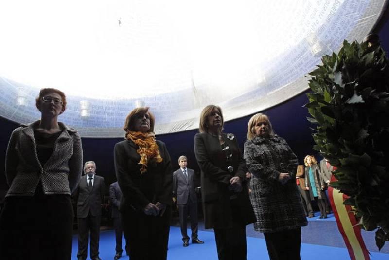 HOMENAJE DEL AYUNTAMIENTO DE MADRID A LAS VÍCTIMAS DEL 11M
