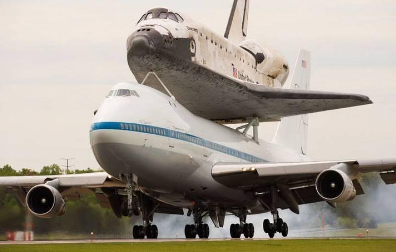 Aterrizaje final en el aeropuerto de Dulles