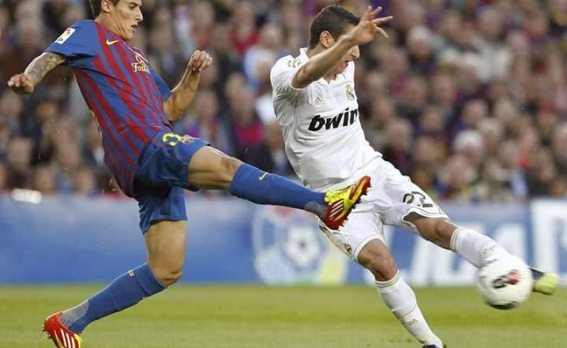 Tello, una de las sorpresas del 11 de Guardiola, con Di María