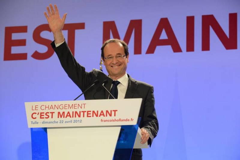 François Hollande - Elecciones Francia 2012