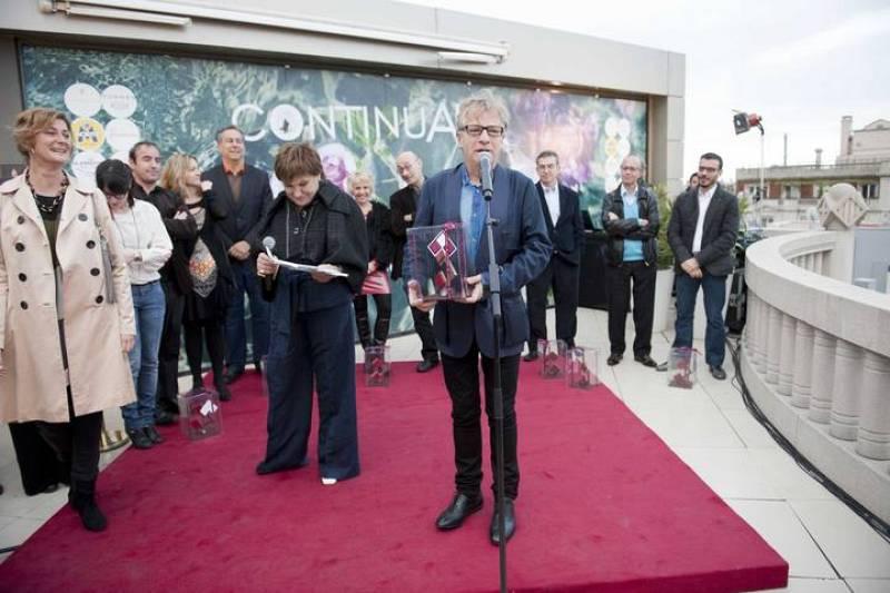 Javier Mariscal amb el premi