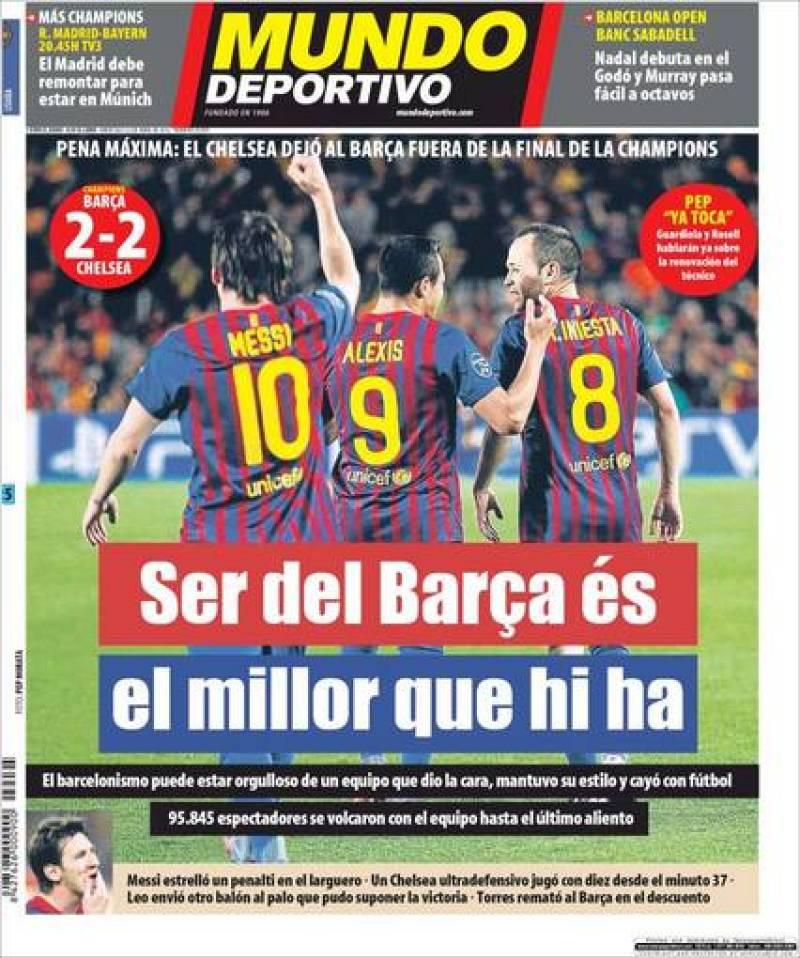 """El Mundo Deportivo: """"Ser del Barça es lo mejor que hay"""""""