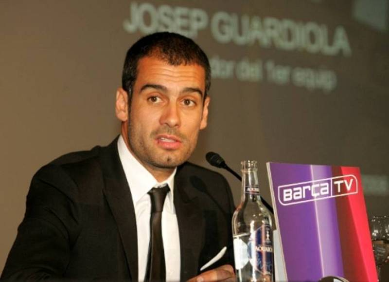 Primera Rueda de prensa de Guardiola