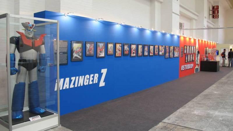 Exposición de Mazinger Z, con motivo de su 40 cumpleaños