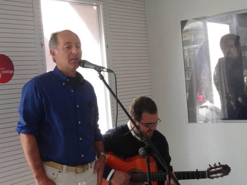 José Manuel Soto, en directo desde la exposición del 75º aniversario de RNE