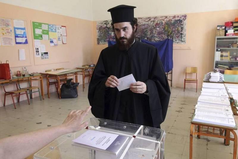 LAS ELECCIONES GRIEGAS TRANSCURREN SIN INCIDENTES SERIOS