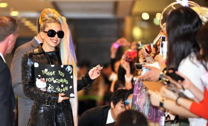 Gente y Tendencias - Lady Gaga llega a Tokio