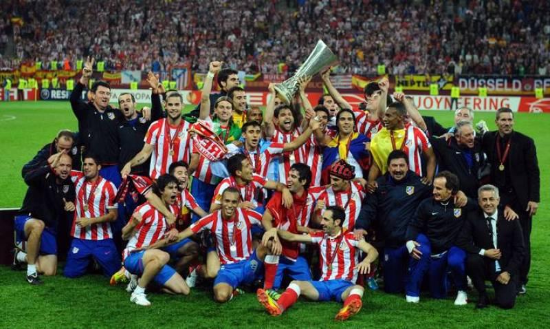 El Atlético de Madrid, campeón de la Liga Europa 2012