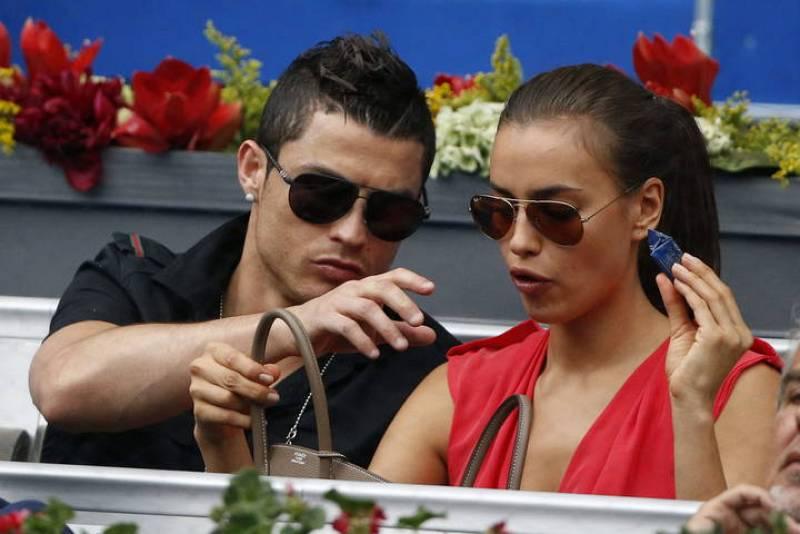 Cristiano Ronaldo con Irina Shayk en el Master 1000 Madrid