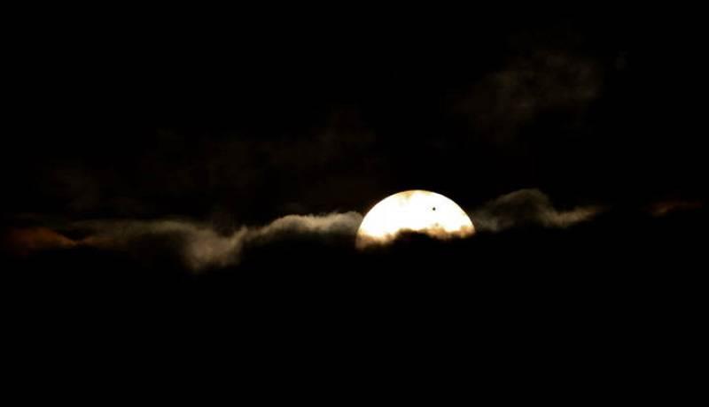 Venus transita entre el Sol y la Tierra
