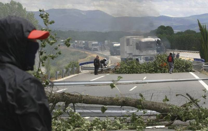 Huelga mineros León y Asturias