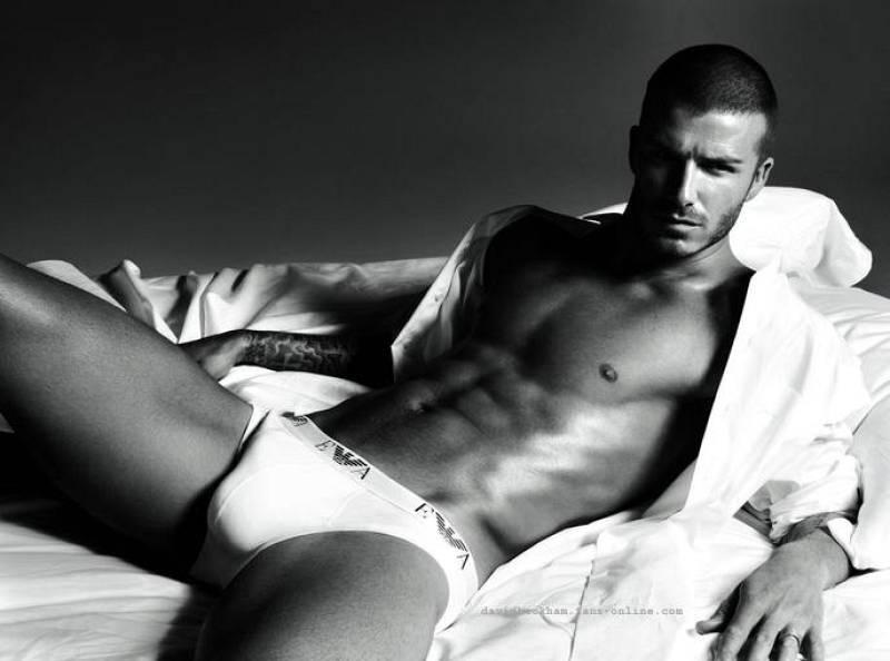 Beckham en calconcillos