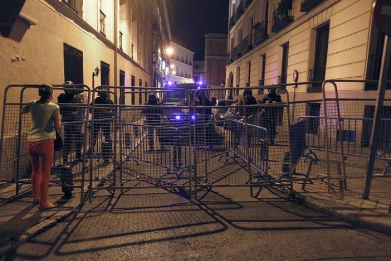 PROTESTAS CONTRA RECORTES DEL GOBIERNO