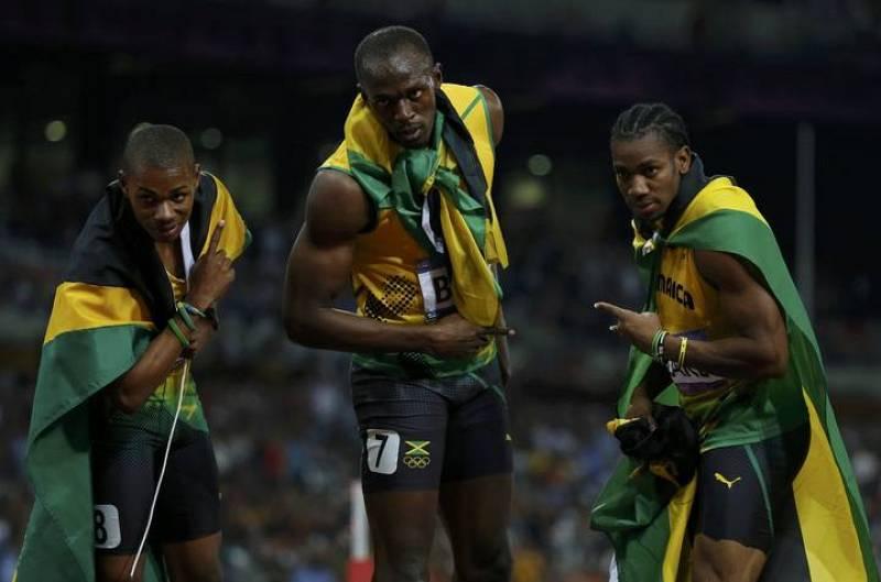 Éxito absoluto de Jamaica en los 200 metros, en los que ha conseguido un triplete con Bolt, Blake y Weir.