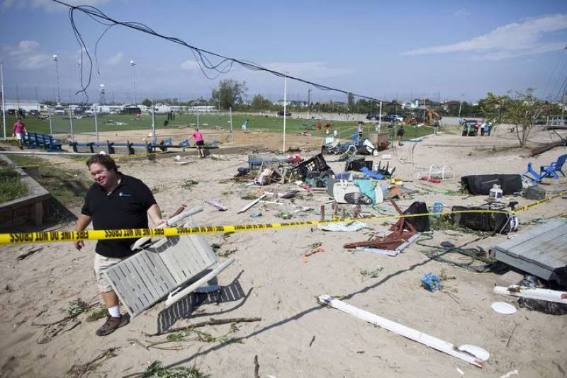 Un tornado causa daños en dos barrios de Nueva York