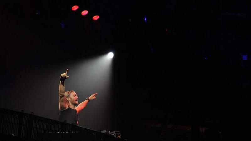 David Guetta en el iTunes Festival 2012