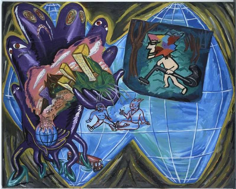 """Patricia Gadea, """"El ritmo del mundo"""", (1984)"""
