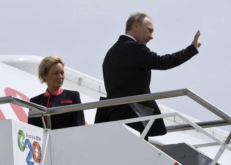 Vladimir Putin abandona la cumbre del G20 en Brisbane