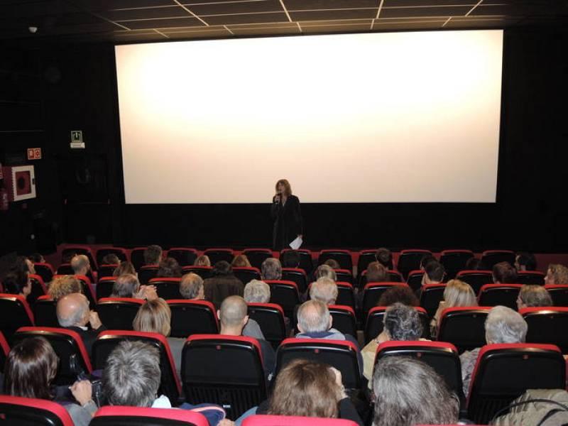 Estreno del documental 'El buen anfitrión', sobre el director Bigas Luna, en el cine Texas de Barcelona, el martes 25 de noviembre de 2014