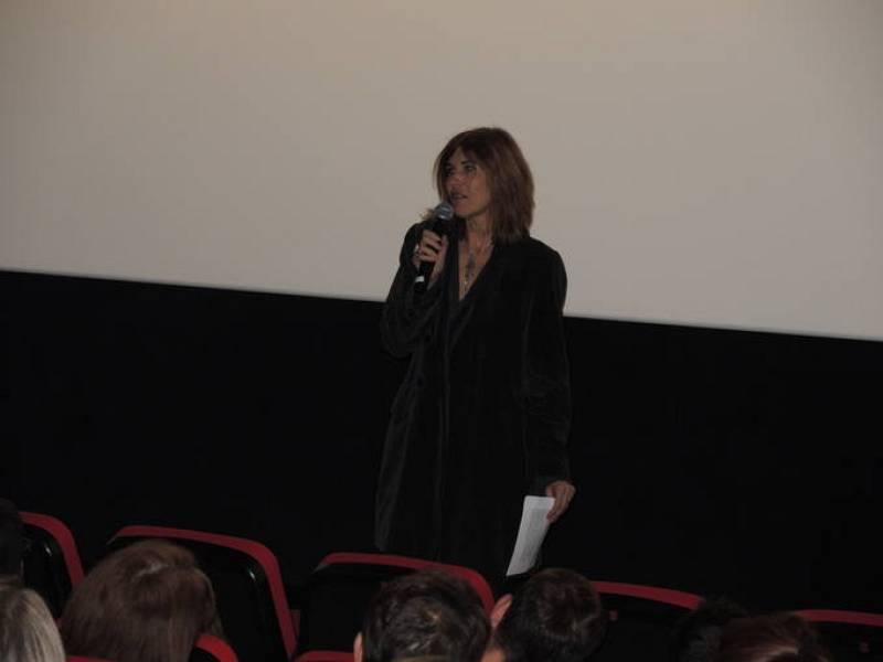 La subdirectora de contenidos de La 2, Elisabet Anglarill, durante la presentación del documental 'El buen anfitrión', sobre Bigas Luna